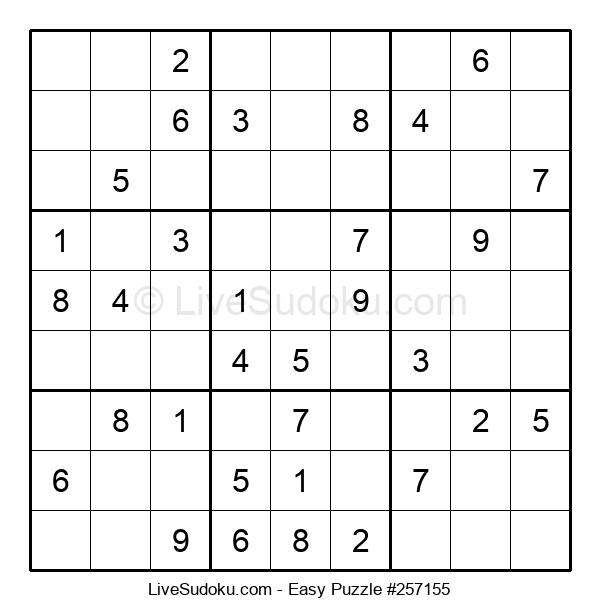 Beginners Puzzle #257155