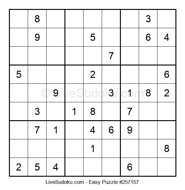 Beginners Puzzle #257157