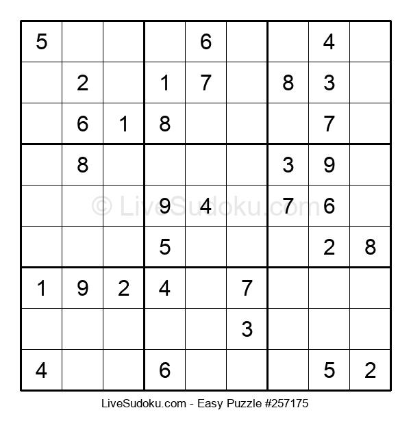 Beginners Puzzle #257175
