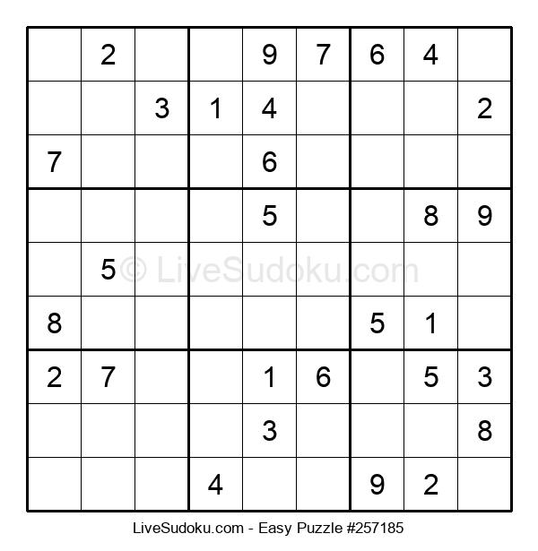 Beginners Puzzle #257185