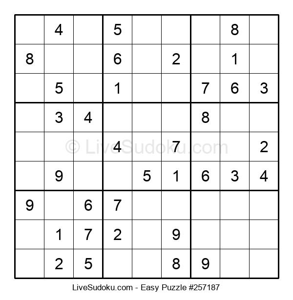 Beginners Puzzle #257187