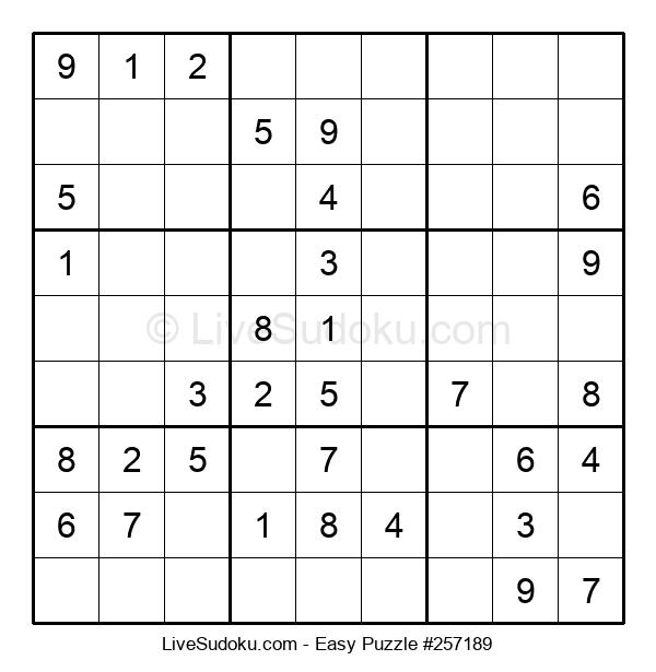 Beginners Puzzle #257189