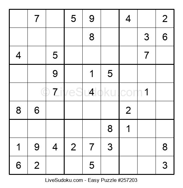 Beginners Puzzle #257203