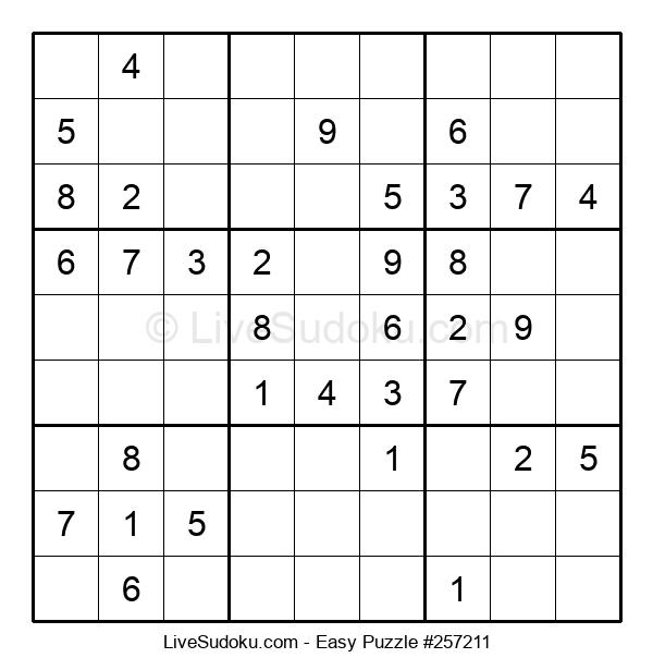 Beginners Puzzle #257211