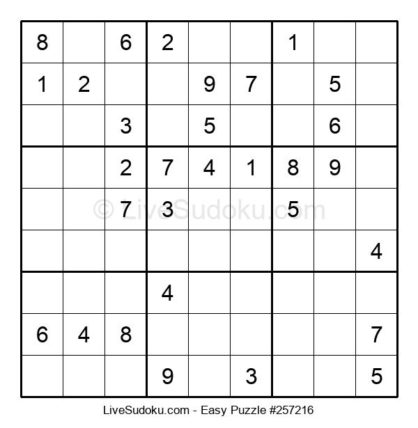Beginners Puzzle #257216