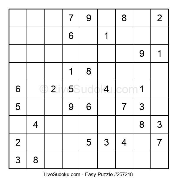 Beginners Puzzle #257218