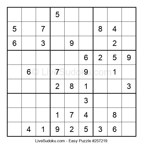 Beginners Puzzle #257219
