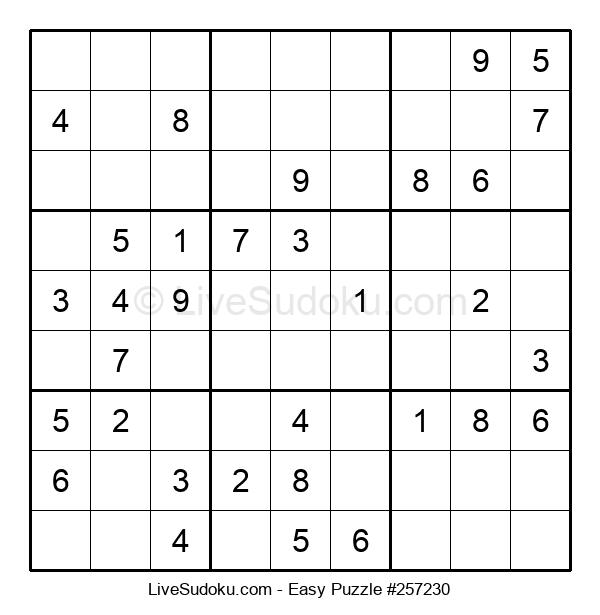 Beginners Puzzle #257230