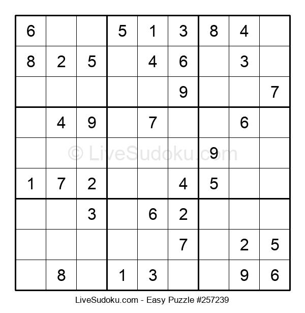 Beginners Puzzle #257239