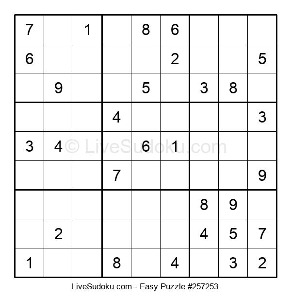 Beginners Puzzle #257253