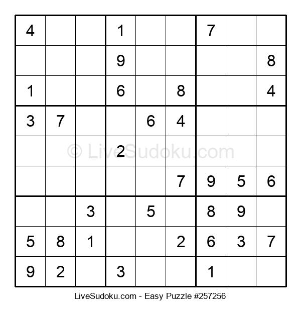 Beginners Puzzle #257256