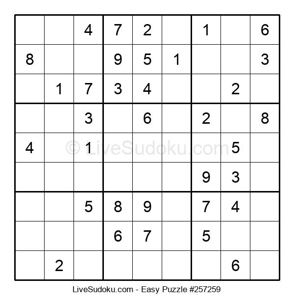 Beginners Puzzle #257259