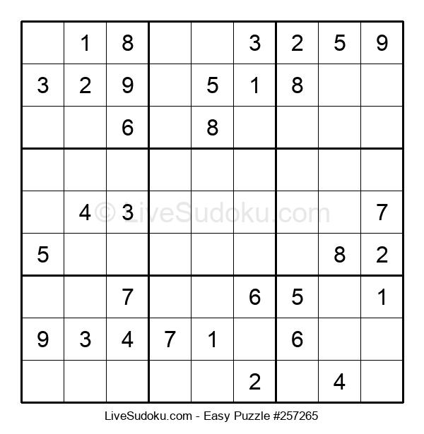 Beginners Puzzle #257265