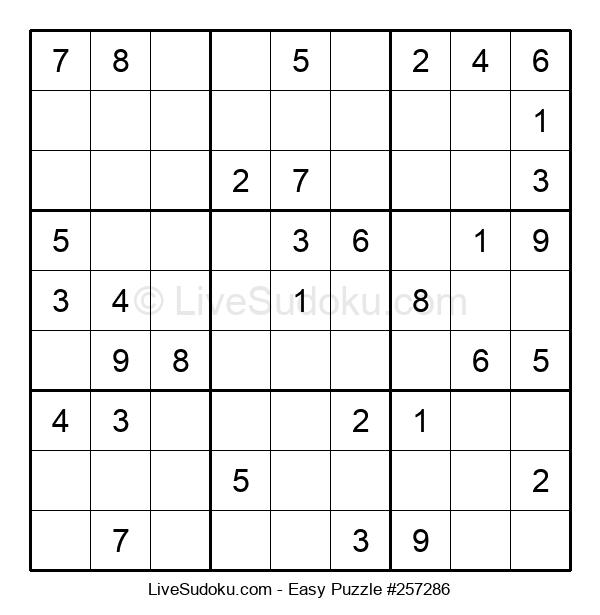Beginners Puzzle #257286
