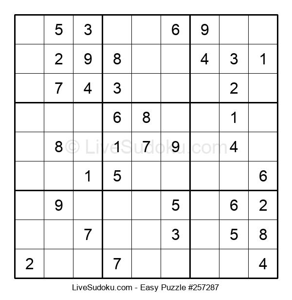 Beginners Puzzle #257287