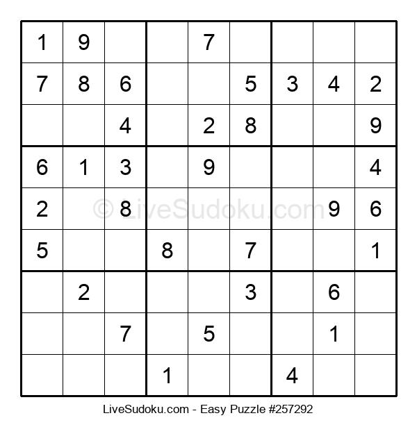 Beginners Puzzle #257292