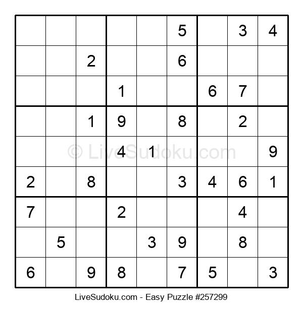 Beginners Puzzle #257299