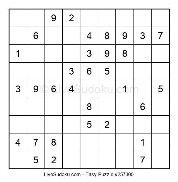 Beginners Puzzle #257300