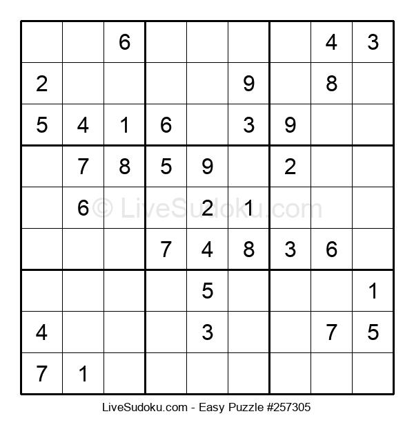 Beginners Puzzle #257305