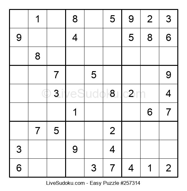 Beginners Puzzle #257314