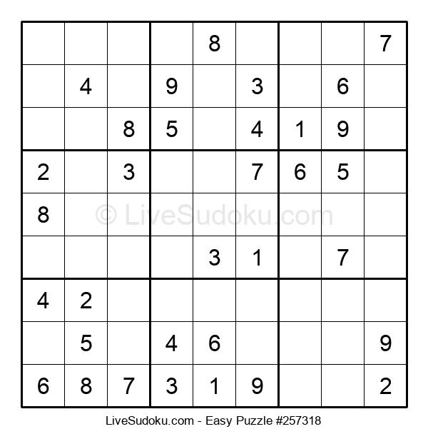 Beginners Puzzle #257318