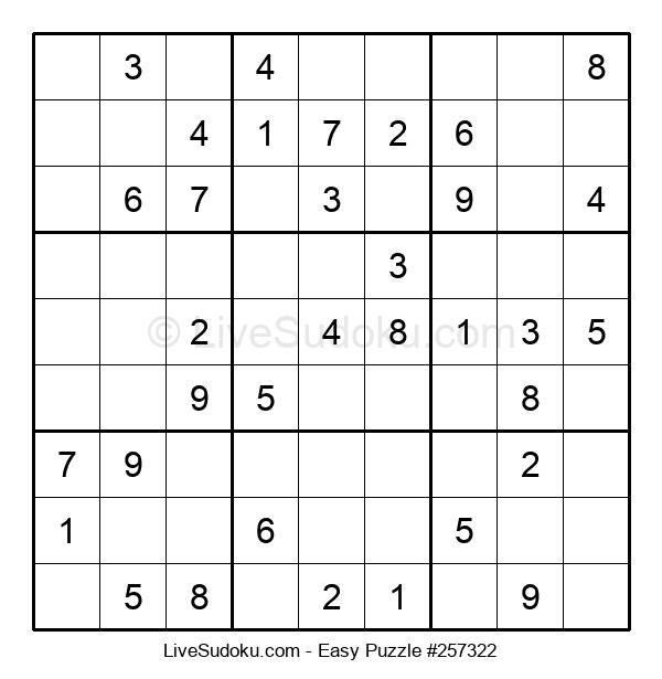 Beginners Puzzle #257322