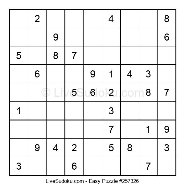 Beginners Puzzle #257326