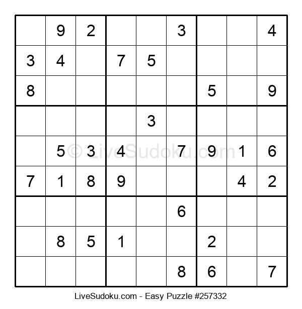 Beginners Puzzle #257332