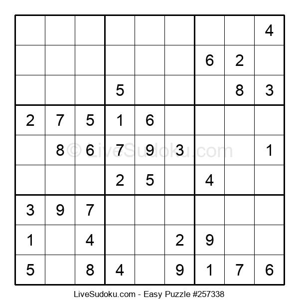 Beginners Puzzle #257338