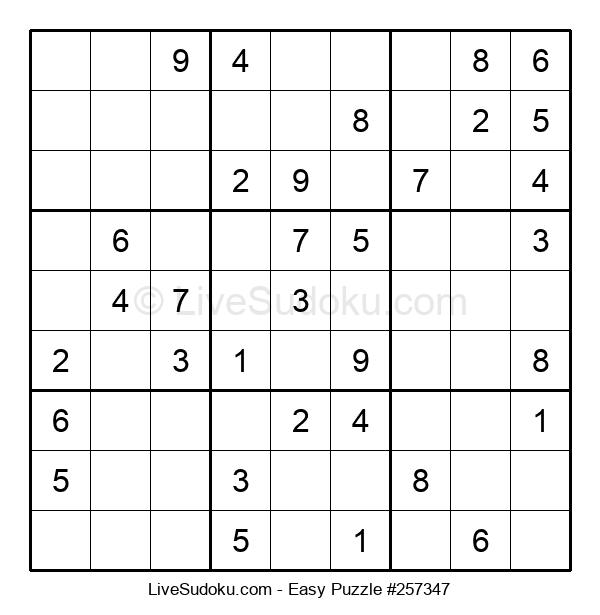 Beginners Puzzle #257347