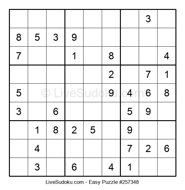 Beginners Puzzle #257348