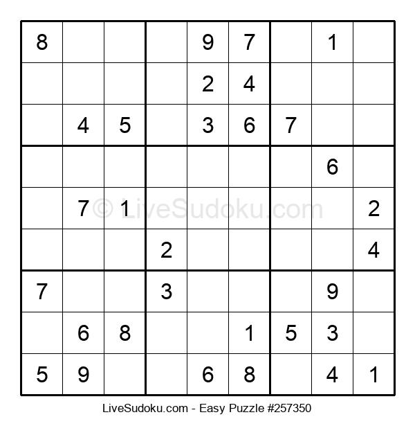 Beginners Puzzle #257350