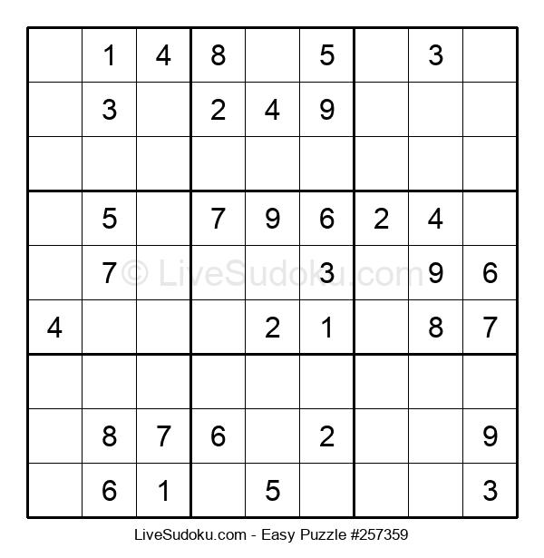 Beginners Puzzle #257359