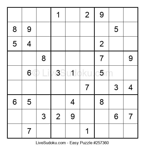 Beginners Puzzle #257360