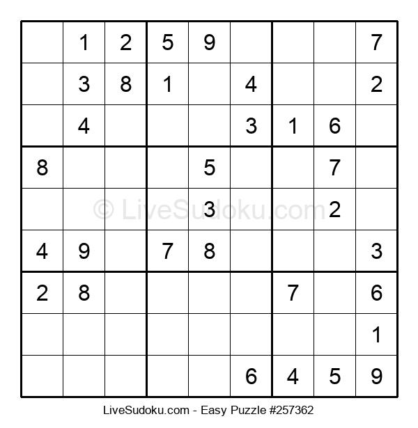 Beginners Puzzle #257362