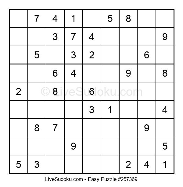 Beginners Puzzle #257369