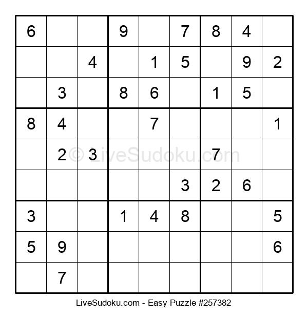 Beginners Puzzle #257382