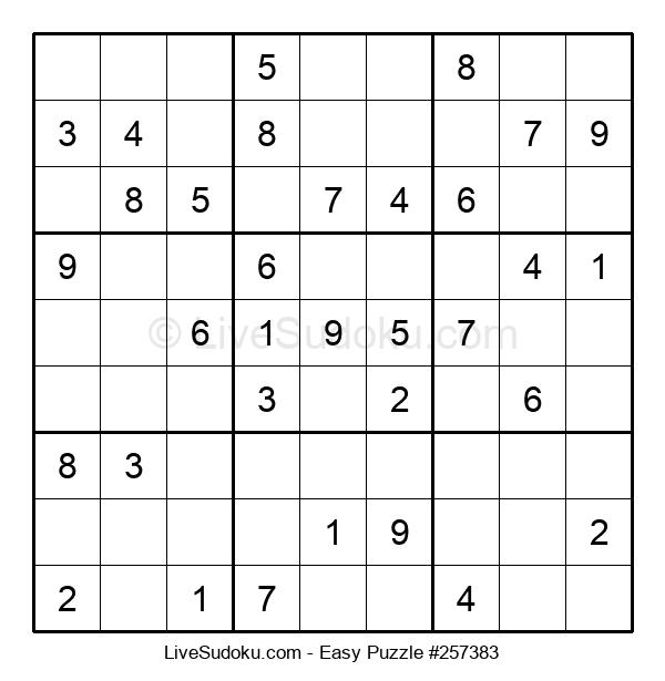 Beginners Puzzle #257383