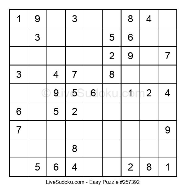 Beginners Puzzle #257392