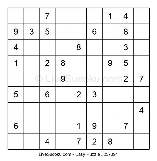 Beginners Puzzle #257394