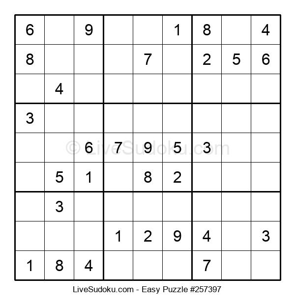 Beginners Puzzle #257397