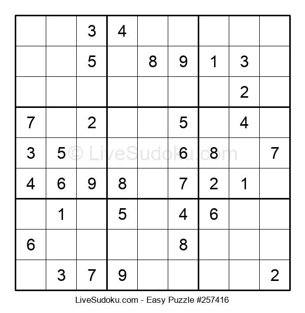 Beginners Puzzle #257416