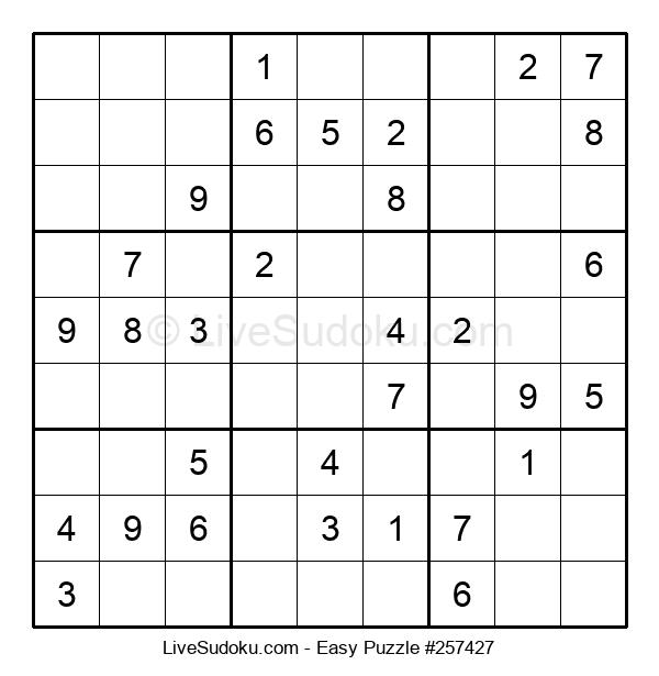 Beginners Puzzle #257427