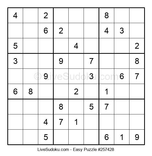 Beginners Puzzle #257428