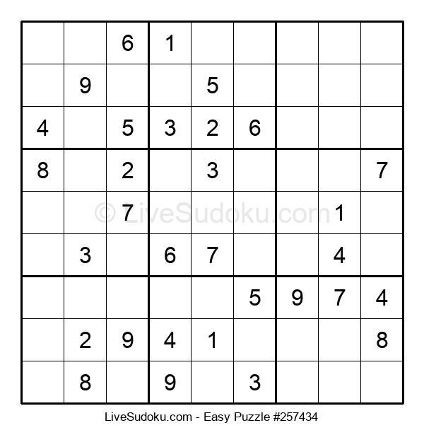Beginners Puzzle #257434