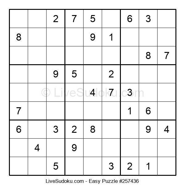 Beginners Puzzle #257436