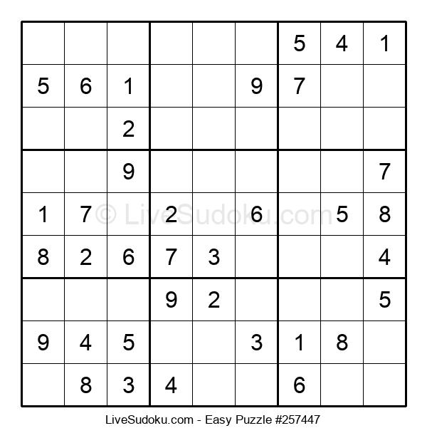 Beginners Puzzle #257447