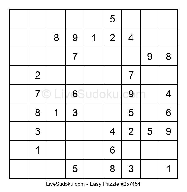Beginners Puzzle #257454