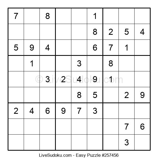 Beginners Puzzle #257456