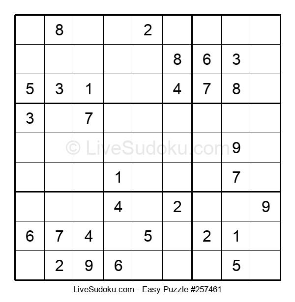 Beginners Puzzle #257461